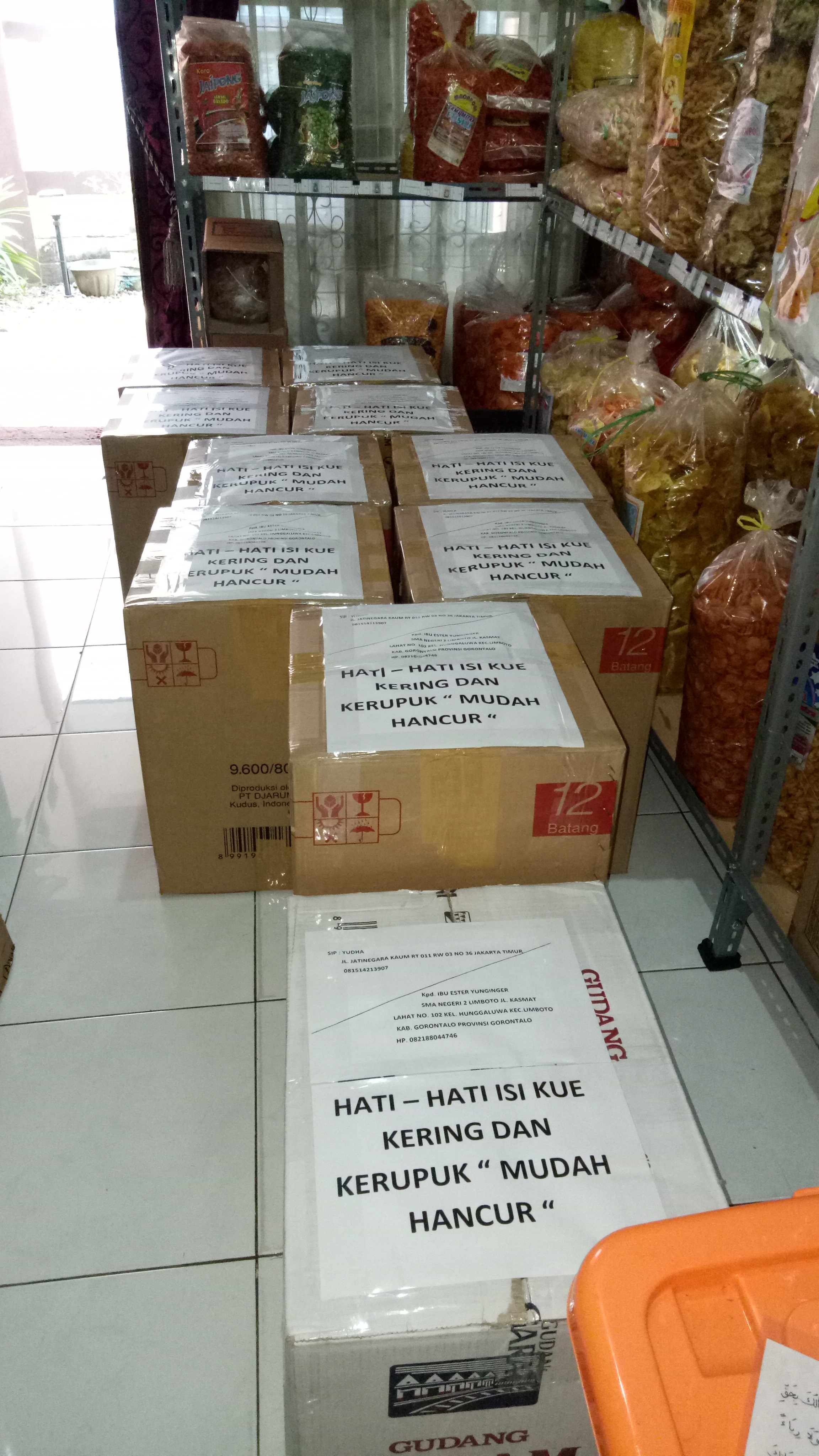 Contact Us Distributor Snack Makanan Ringan
